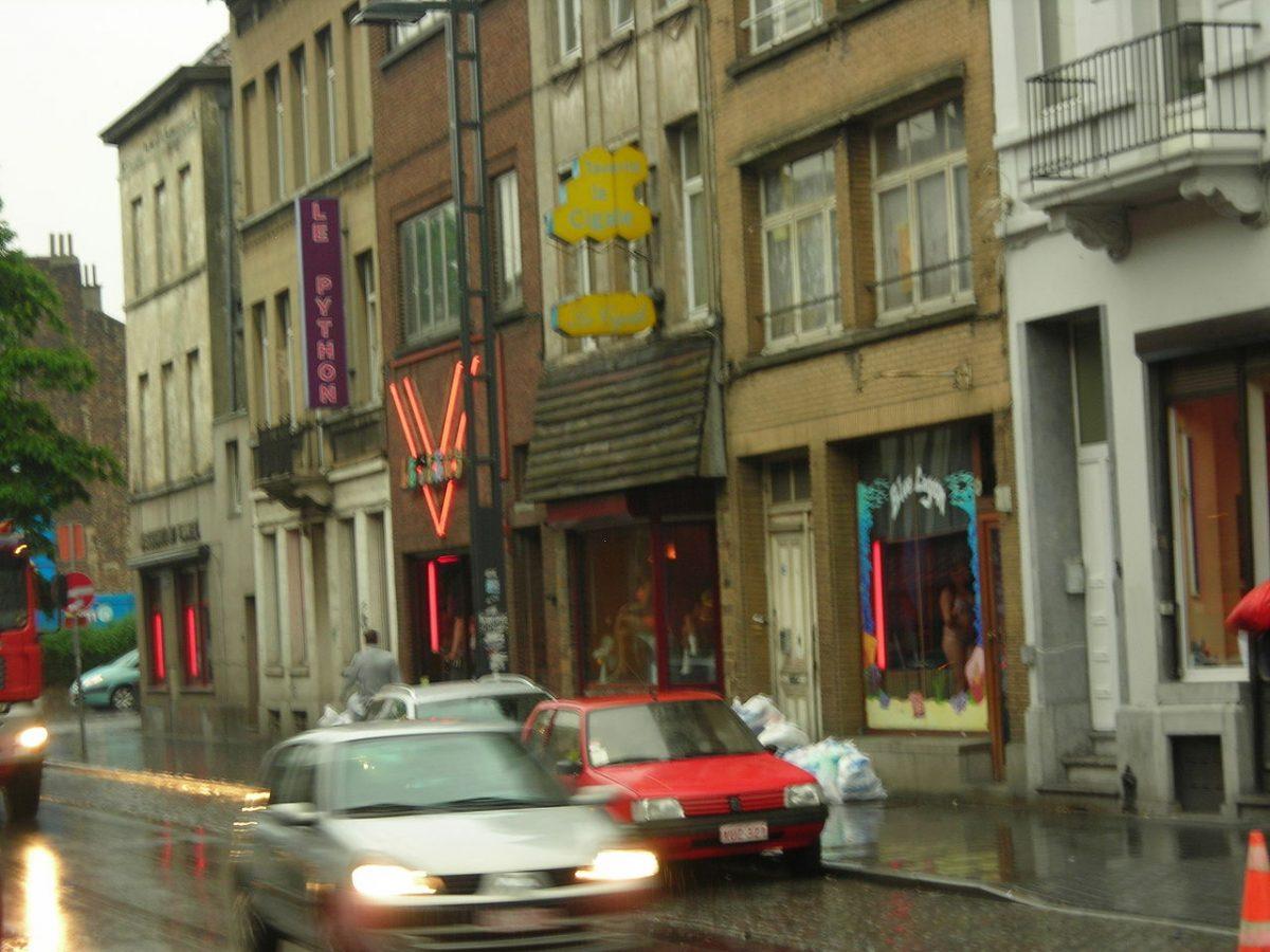 Bizarre situatie in Brussel: Sekswerk in Schaarbeek gestart, maar 700 meter verderop nog verboden